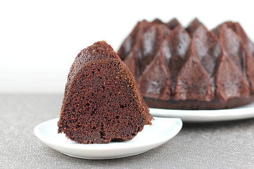 Chocolate Espresso Bundt Cake in Nordic Ware Crown Bundt Pan | by Food Librarian