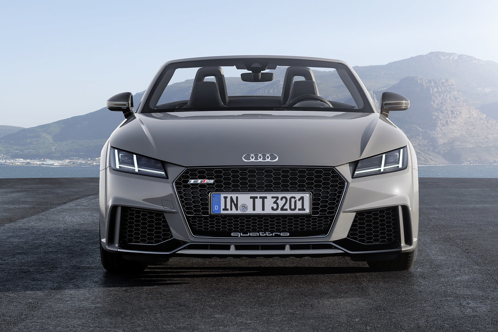 Audi Tt Rs Roadster Static Photo Colour Nardo Grey Car