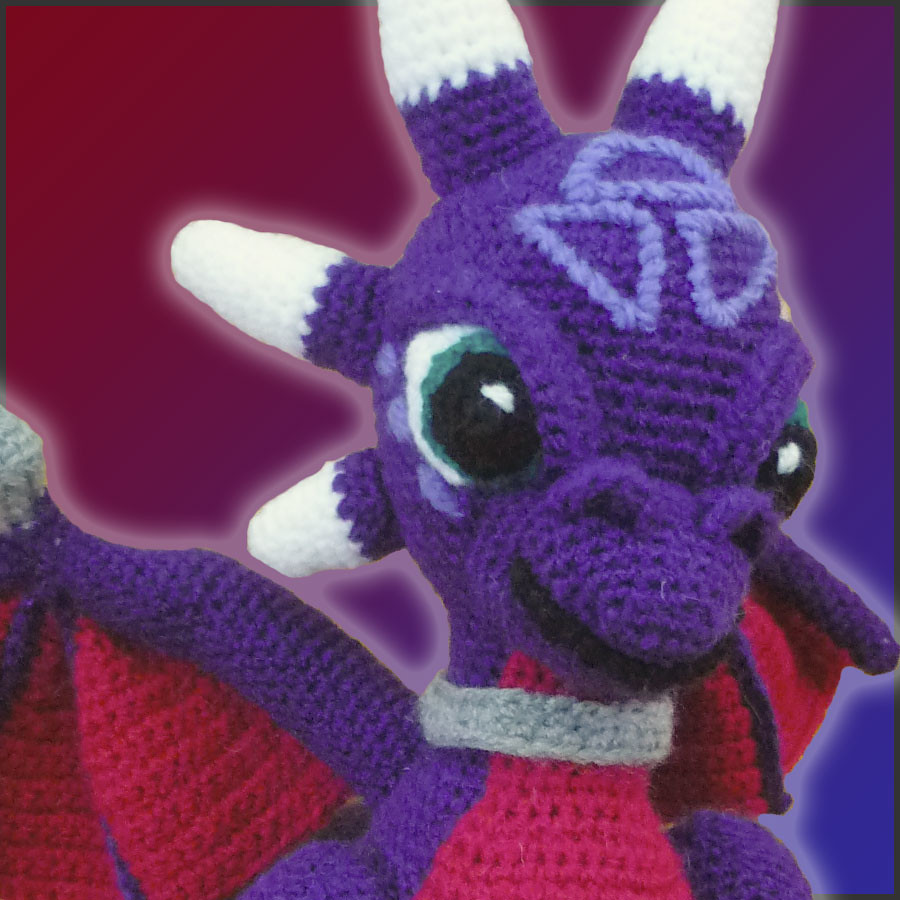 Cynder, The Dragon - Amigurumi Pattern by DeliciousCrochet… | Flickr
