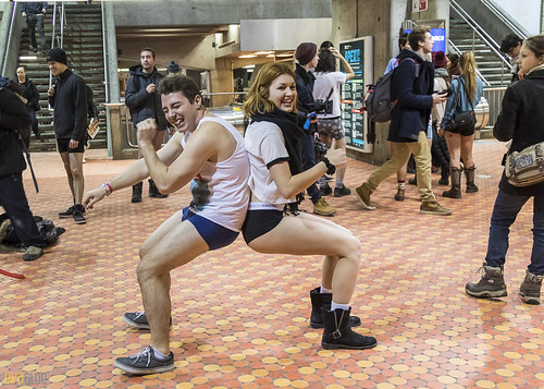 no pants subway ride montreal 2016 - 23 | by Eva Blue