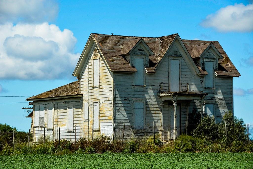 Old Farmhouse Santa Maria California