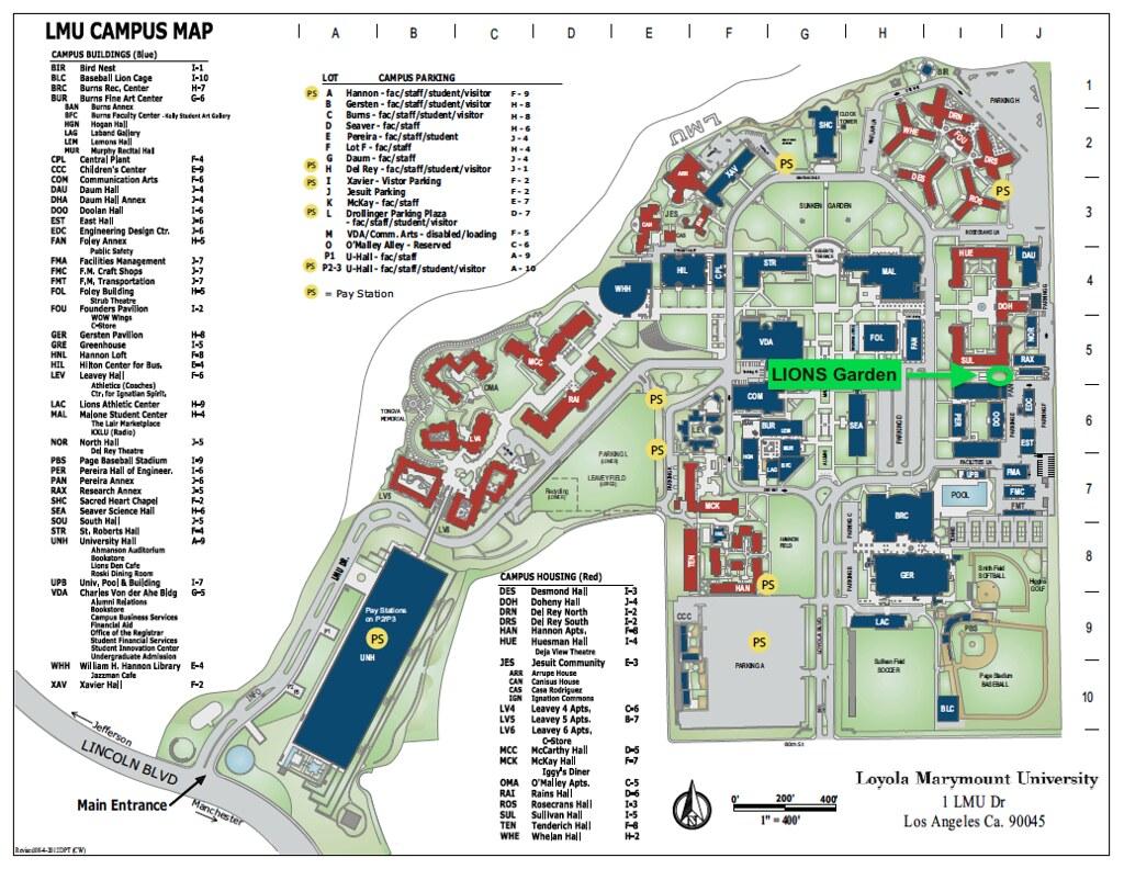 Campus Map   LIONS Garden | Green LMU | Flickr