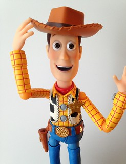 Revoltech figure Woody Toy Story | by Airinora