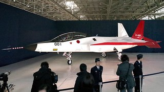 Japan unveiled its first homemade stealth plane ATD-X Shinshin | by Rank_X