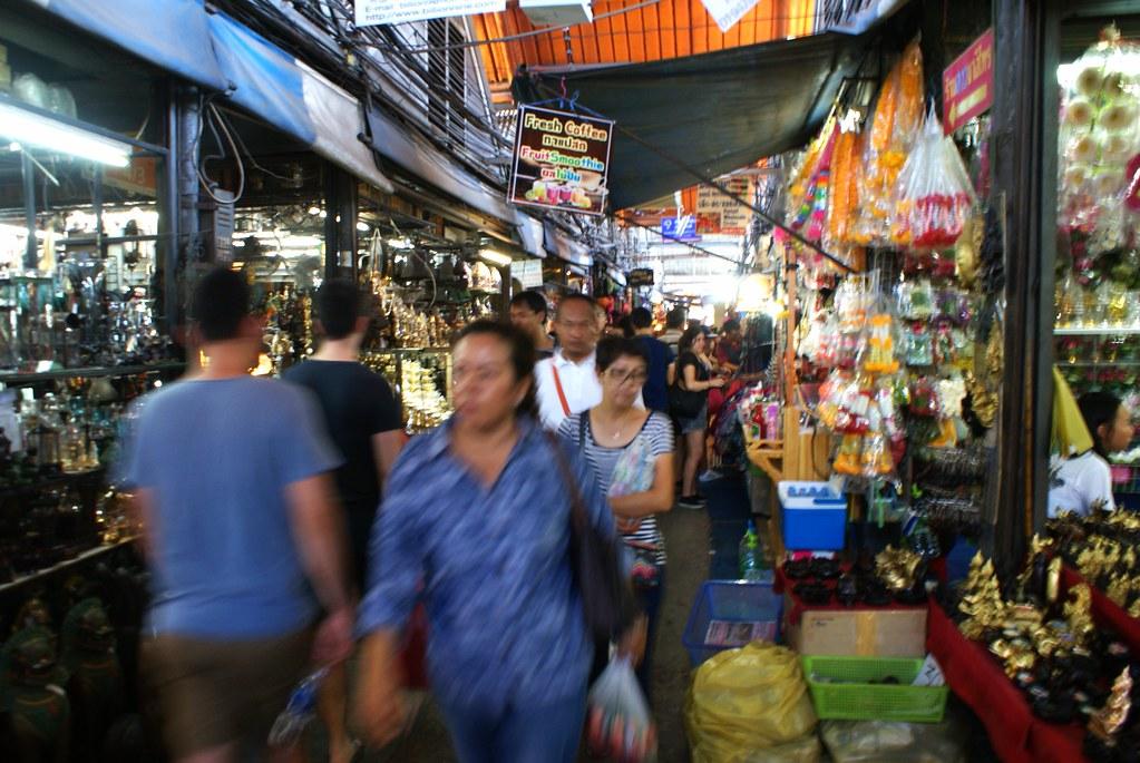 Marché de Chatuchak à Bangkok : Une expérience inoubliable.