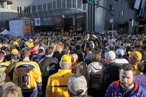 2016 NHL All-Star Game Festivities: The Crowd