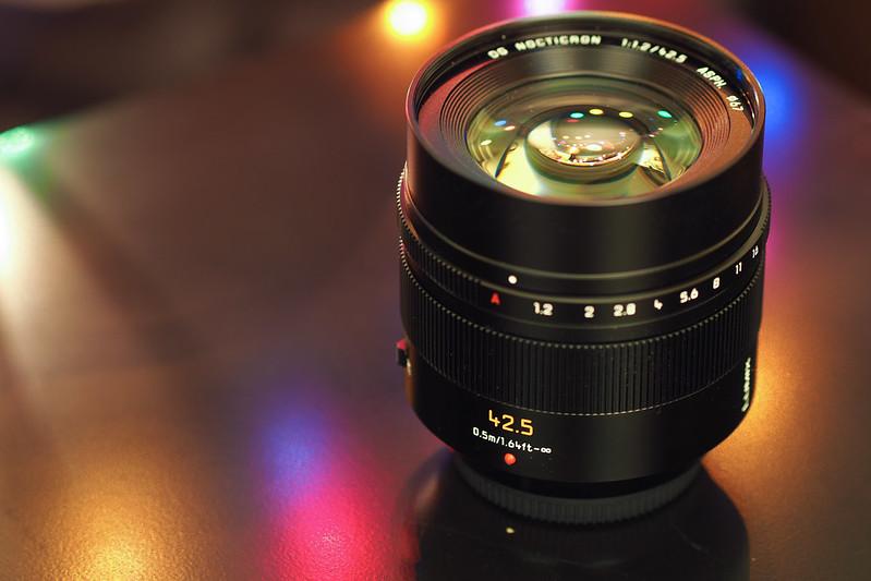 Panasonic DG 42.5mm f/1.2|Leica Lumix