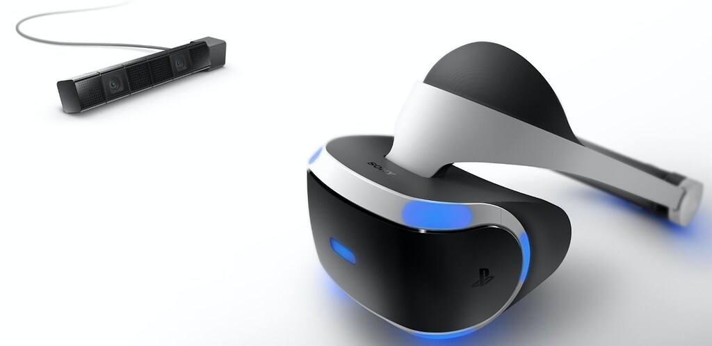 Playstation VR Headset and Camera