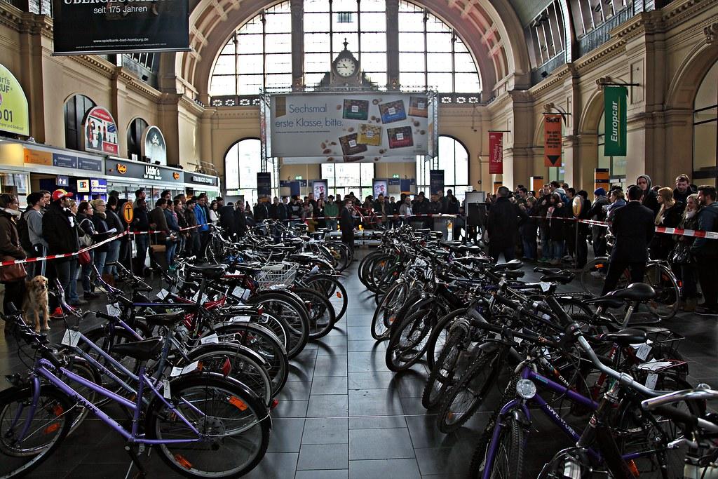 Img 9183 Fahrradversteigerung Am Hauptbahnhof Frankfurt Flickr