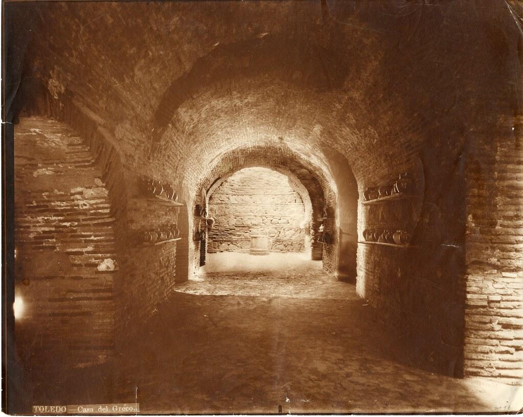 Casa del Greco hacia 1900