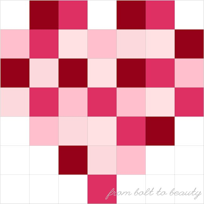 Top Post: Less-Work Patchwork Hearts