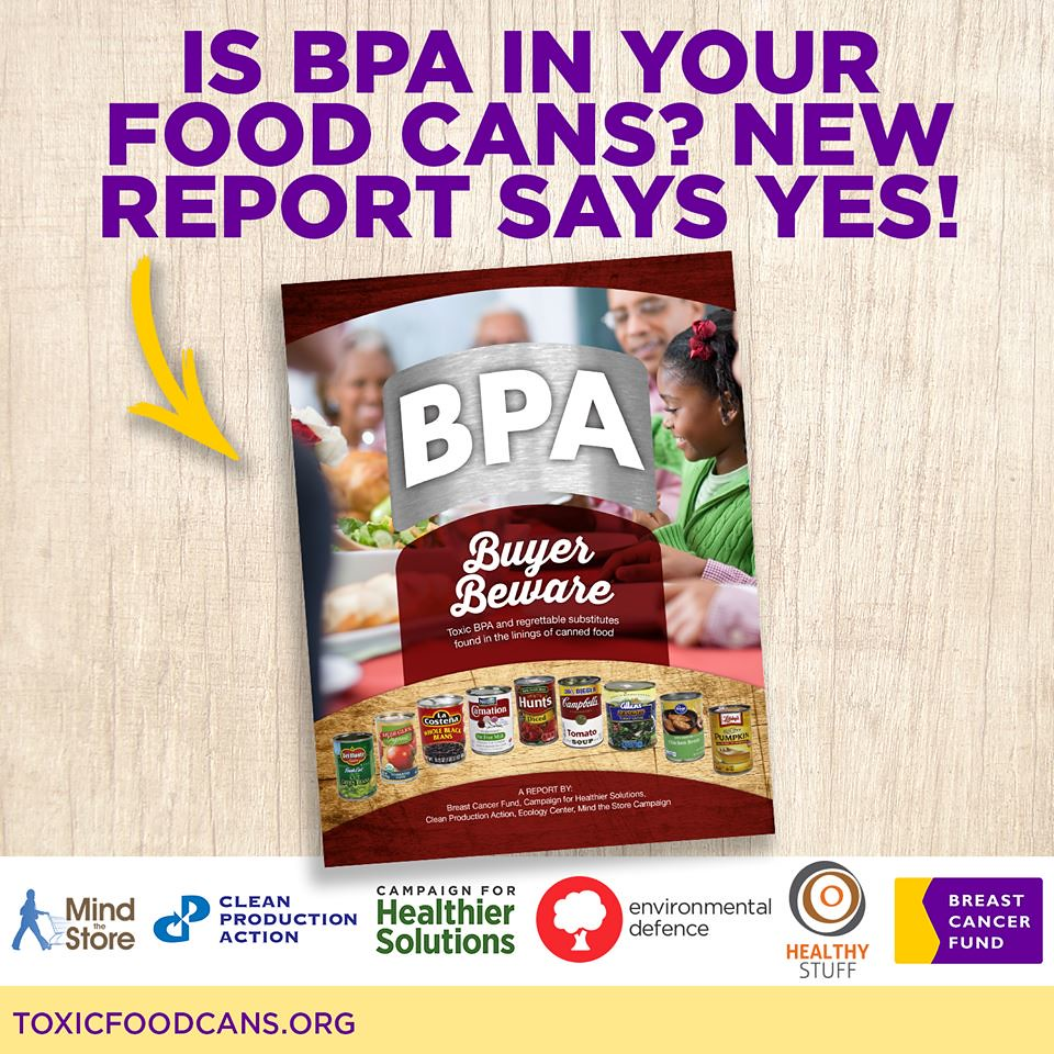 BPA is in 67 Of Canned Food