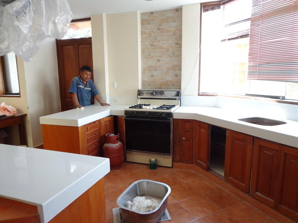 encimera cocina cuarzo blanco islas by marmolista lima
