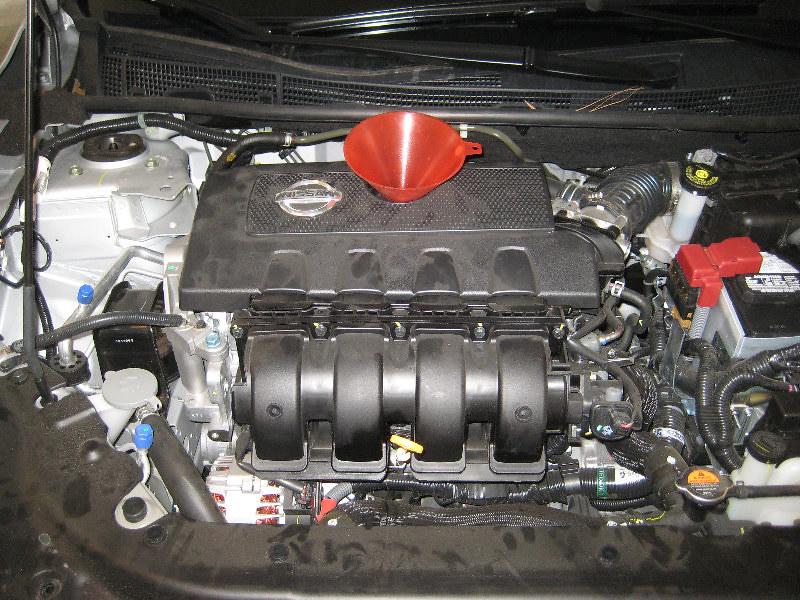 20132015 Nissan Sentra Sedan With Mra8de 18l I4 Engine \u2026 Flickrrhflickr: 2015 Nissan Sentra Oil Filter Location At Amf-designs.com
