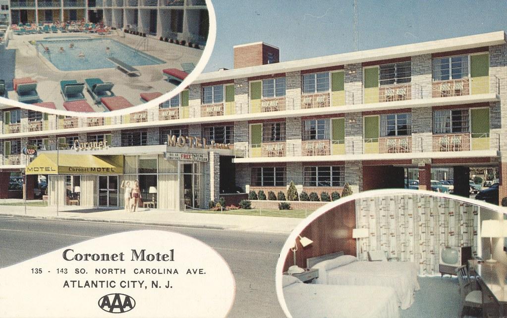 Coronet Motel - Atlantic City, New Jersey