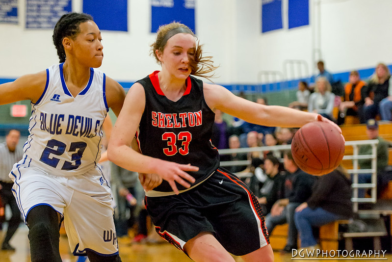 Shelton vs. West Haven High - High School Girls Basketball