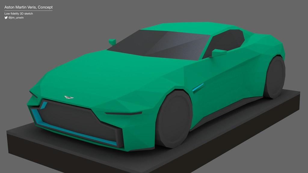 Aston Martin Veris Concept Jim Unwin Flickr