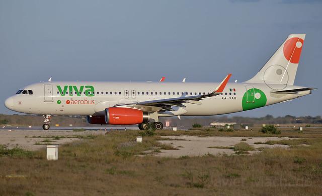 Vivaaerobus A320-232, XA-VAQ