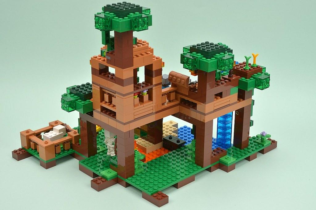 21125 The Jungle Tree House Brickset Flickr