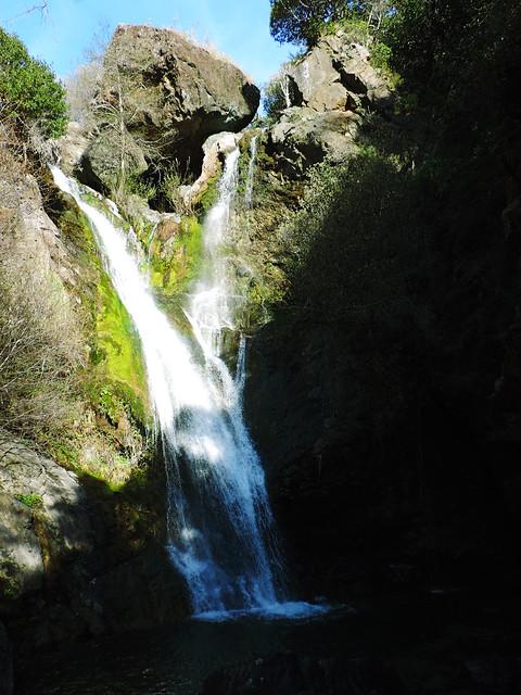 Salmon Creek Falls, Big Sur, CA, USA