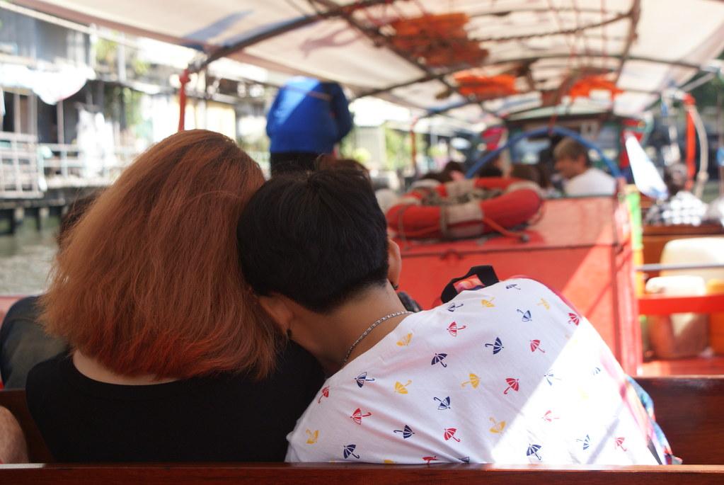 """Ce n'est peut être plus la """"Venise de l'est"""" comme dans le passé mais Bangkok garde avec ces canaux un côté romantique."""