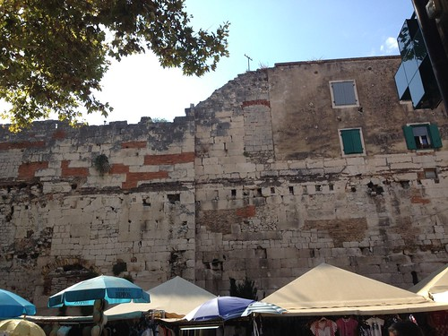 Ancient wall of Diocletian's Palace | by susieredshoes