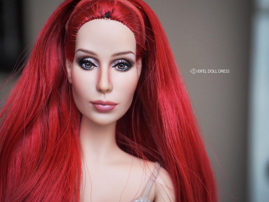 Repaint Cher Barbie Doll Bob Mackie Repaint Cher Barbie Flickr