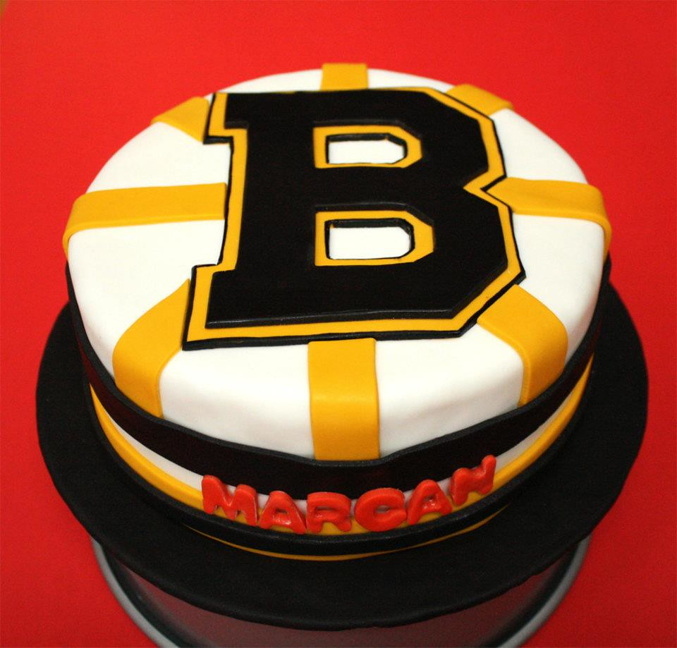 Boston Bruins Birthday Cake Happy Birthday To A Hardcore B Flickr