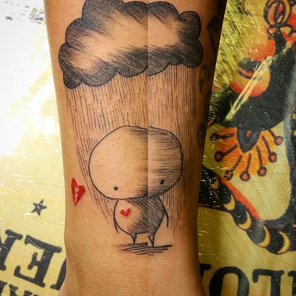 Fuck love tattoo