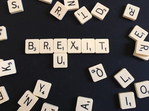 Brexit / EU Scrabble | by jeffdjevdet