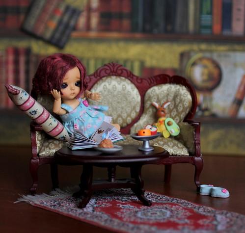 A Doll a Day Feb'16/ day 6/written