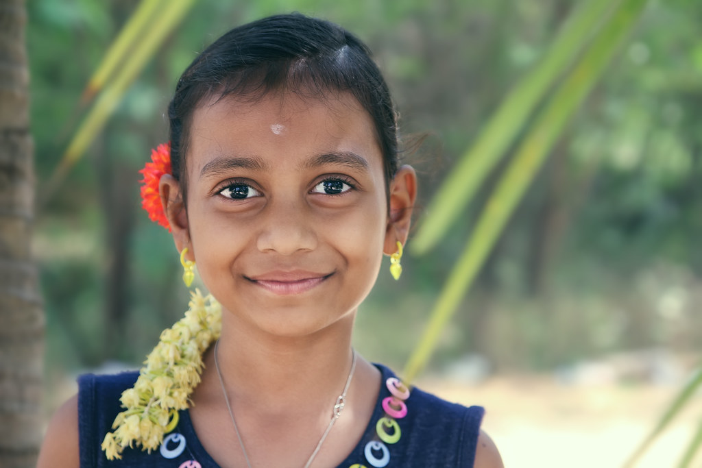 Indian village girls
