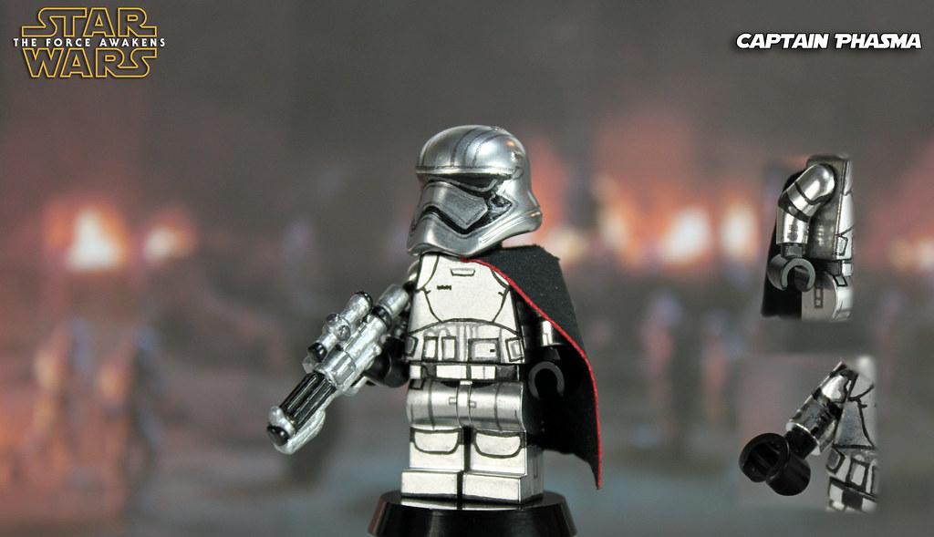 Custom LEGO Star Wars: The Force Awakens   Captain Phasma   Flickr
