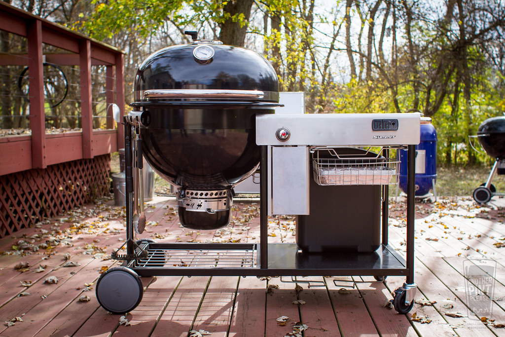 Weber Summit Charcoal Holzkohlegrill : Weber summit charcoal grill mike flickr