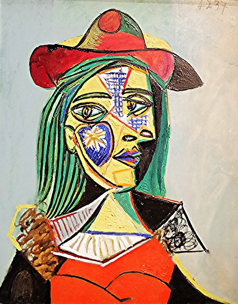 Pablo Picasso, Femme au chapeau et au col de fourrure (Por… | Flickr