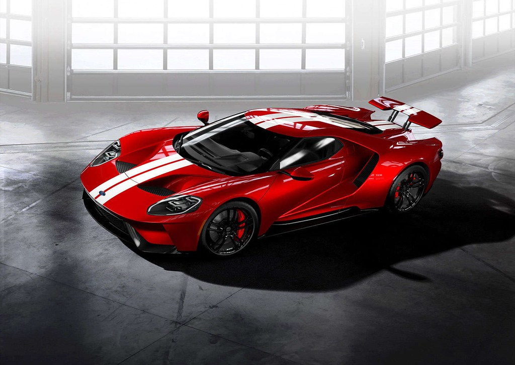 Liquid Red Ford Gt By Sssupersports