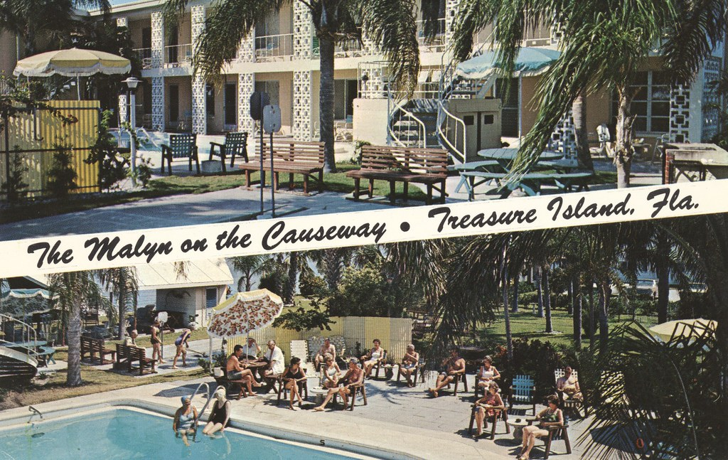 The Malyn Motel-Apts. - Treasure Island, Florida