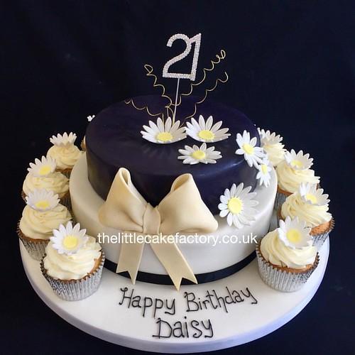 Stacked Oreo Birthday Cake