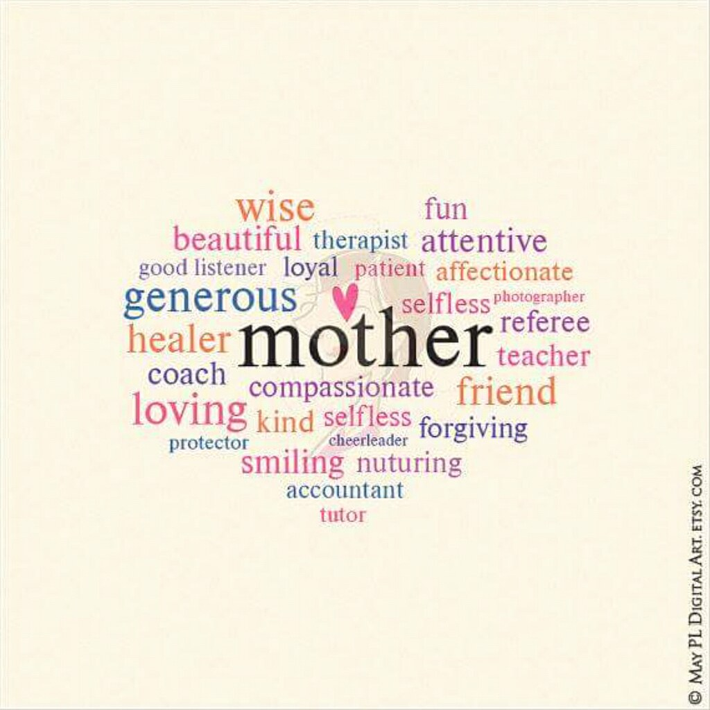 My mothers day whimsical word art you can use to make you flickr my mothers day whimsical word art you can use to make your own greeting card or m4hsunfo