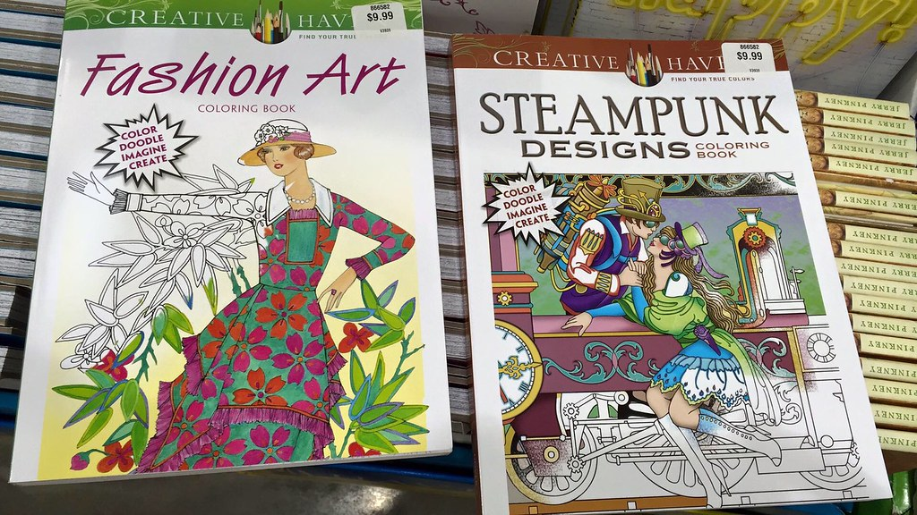 Creative Haven Coloring books at Costco   m01229   Flickr