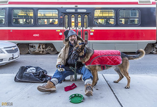 man and his dog toronto 5 | by Eva Blue