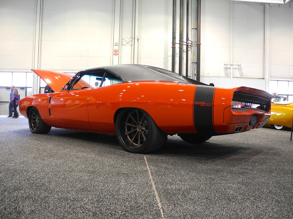 Mos Mayhem 69 Dodge Charger On Grip Equipped Dropkick Flickr 2015 Custom Wheels At The