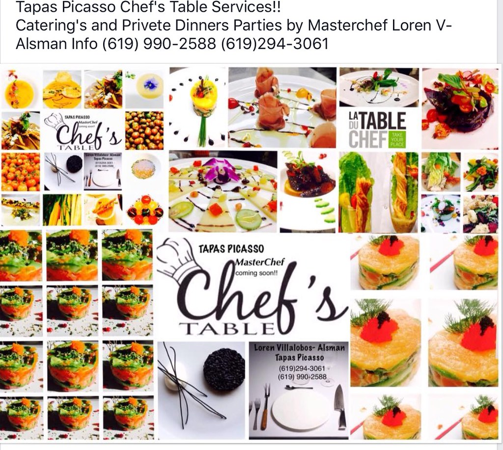 Best Caterings Service In SAN DIEGO Chefs Table By Tapas Flickr - Chef's table catering