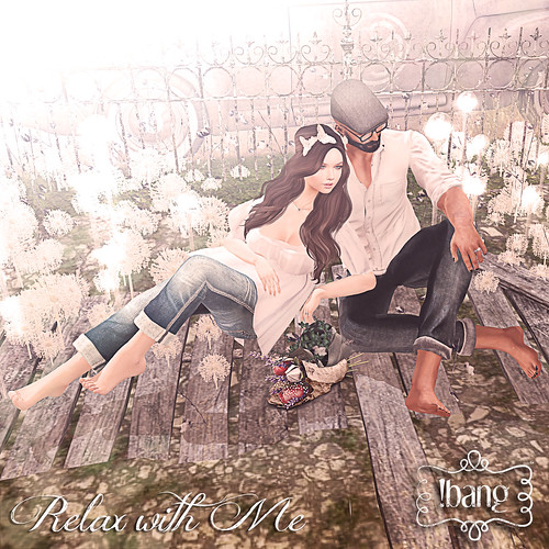 !bang - relax with me | by Luna Jubilee / !bang poses