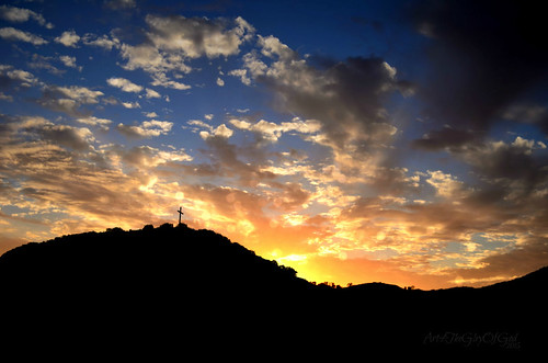 Cross on a Hill | by Art4TheGlryOfGod by Sharon
