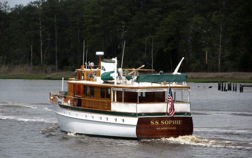 S S Sophie 2016 The S S Sophie A 1947 Built Trumpy Is Flickr