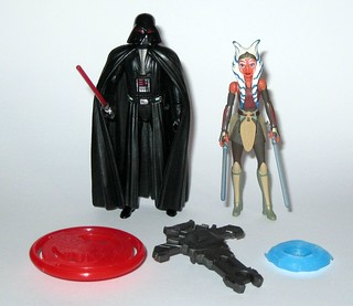 Hasbro Star Wars Rebels 2-Pack Space Mission Darth Vader and Ahsoka Tano