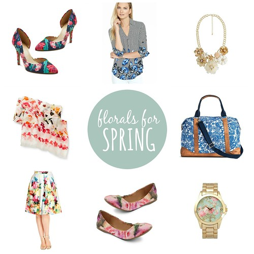 florals for spring, on trend  Style On Target | by styleontarget