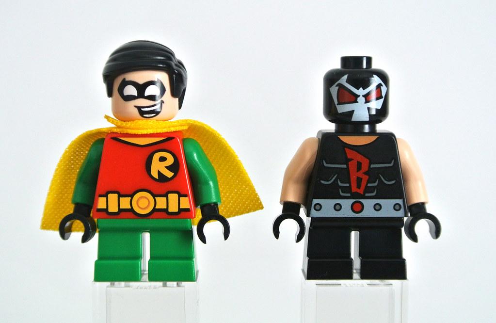 Bane   by Brickset 76062 Robin vs. Bane   by Brickset