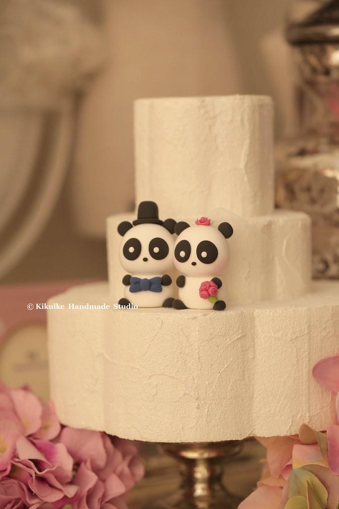 Panda Wedding Cake Topper   www.etsy.com/listing/229054059/p…   Flickr